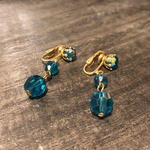 Jewelry - Clip on costume jewelry earrings
